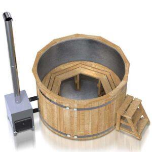 kuva 2 kylpytynnyri ruostumattomasta teraksesta 3-8 hengelle